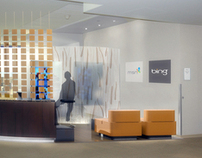 Bing - Microsoft Lobby