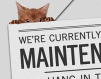Headliner.fm maintenance screen