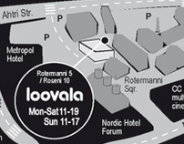"Infographics for open studio ""Loovala"" (Creative Area)"