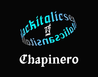 Chapinero Font System