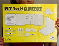 My 1st Habitat — cutout poster