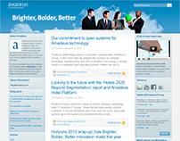 Amadeus IT Group web design