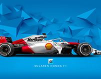 McLaren MP4/4 2018 Livery