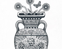 Vases | Pencil Drawings