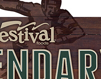 Festival Foods Lambeau Field Suite Graphics