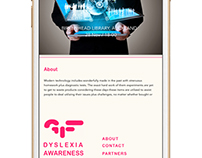 Dyslexia Mobile App Motion Demo