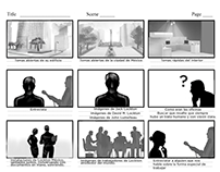 Lockton corporative video storyboard