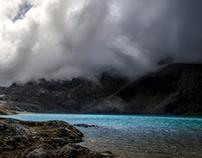 The lake behind Serkhe Khollu
