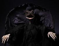 Frilled Lizard Reaper Stop Motion