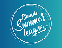 Brussels Summer League- Identité graphique