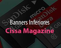 Cissa Magazine - Banners Inferiores