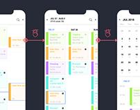 Readdle calendars v1 redesign