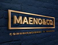 Maeno & Co. Re-Brand