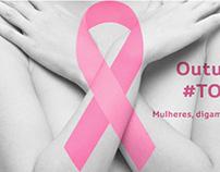 Campanha Outubro Rosa para o Shopping Avenida 28