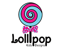 Lollipop Kids Design Logo