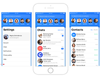 Colabos chat app