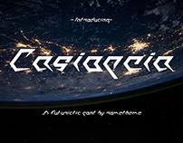 Casiopeia - Futuristic Font
