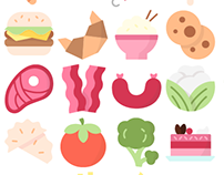 300 International food icons - Premium collection