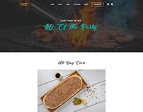 Nar Restaurant Food Website