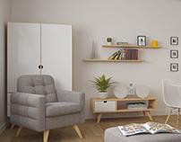 small apartment visualisation