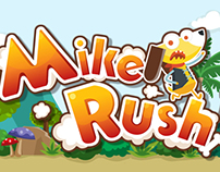 Iphone Game design : Mike Rush