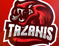 Cobra Gaming Mascot Logo Design - (c) Tazanis (c)