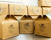 Brand Identity Design - Big Mighty Sandwich Deli