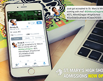 Admissions Postcard | St. Mary's High School