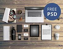 FREE | Branding Mock-Up
