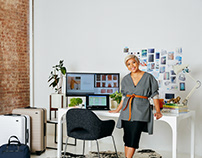 Jen Rubio, co-founder of Away, for Marie Claire x Dell