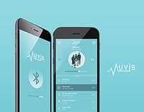Muvib App UI Concept