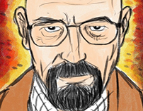 WALTER WHITE - ILLUSTRATION