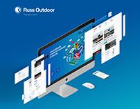 Russ Outdoor / New concept website