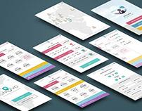 Travel app - UI/UX design
