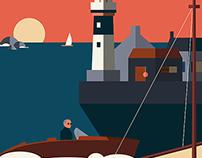 La Flèche Bleue — Illustration 2015