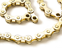 Bike Chain Typography