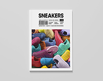 'Sneakers' Magazine design