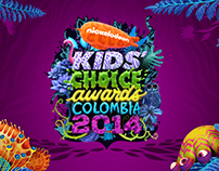 Premios Kid Choice Awards. Canal CityTv Colombia.