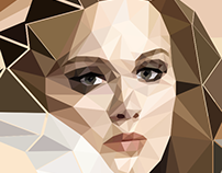 Adele - Low poly
