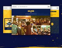 One Page - Cerveza Corona Colombia