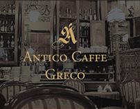 Antico Caffe Greco-Logo development