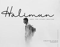 HALIMUN SIGNATURE STYLE - FREE SCRIPT FONT