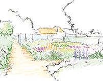 Illustrations Jardinagem Floripa