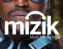 MIZIK - BRAND IDENTITY