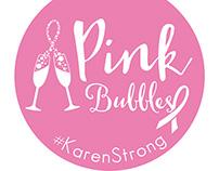 2015 Breast Cancer Walk Logo - t-shirt and yard sign