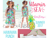 "Lilly's ""Vitamin Sea"" - Spring17"
