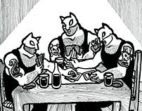 Gatos Luchadores