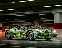 Ferrari 458 Army