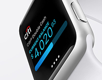 Citi Mobile Lite for Apple Watch