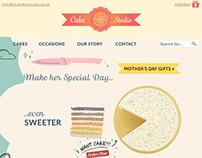 CakeStudio - Ecommerce site